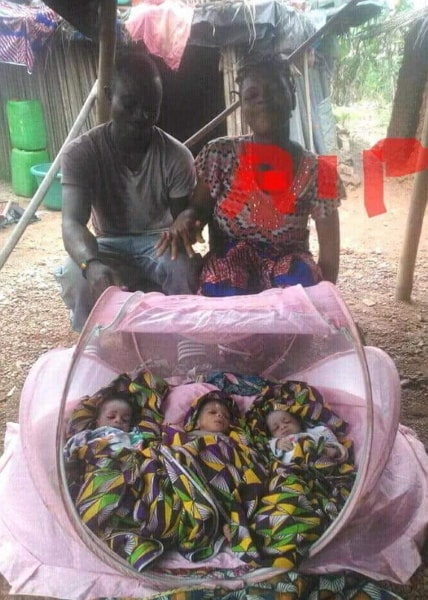 ghanaian woman dies giving birth triplets