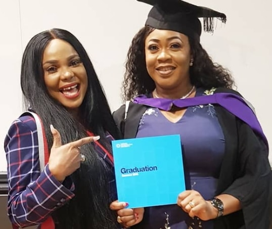 nollywood actress graduates first class london met university