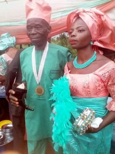 lady marry man of grandfather age in anambra