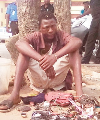 mad man arrested ondo killing innocent man