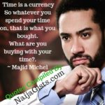 majid michel wisdom inspirational quotes
