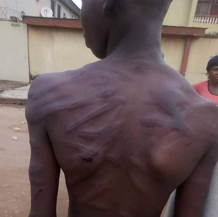 man batters grand son agege lagos