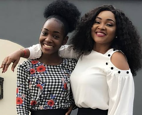 mercy aigbe daughter studying aerospace engineering