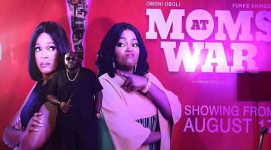 moms at war nollywood movie cinema showing times
