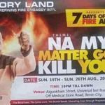 na my matter go kill you