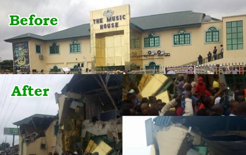 nbc condemns ayefele music house demolition