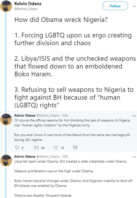 nigerian blames obama nigeria problem