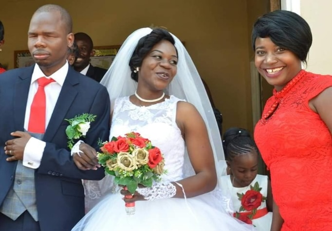 nigerian man born blind marries