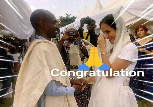 nigerian hausa man marries white american lecturer yola