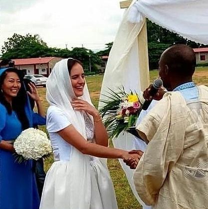 nigerian marries american bride village
