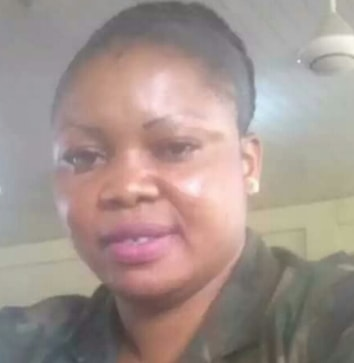 nigerian soldier beats niece wash plates