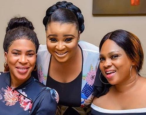 nollywood big babes birthday colleague