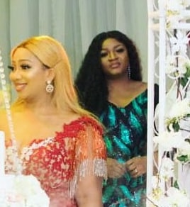 omotola jalade faith ikuku 30th birthday party