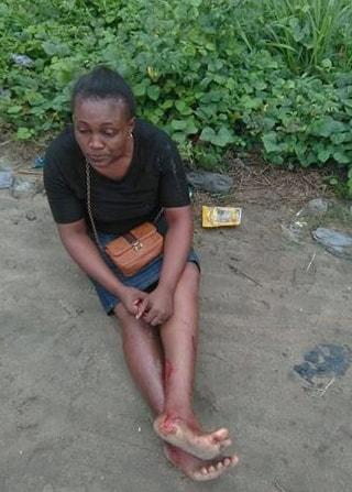 woman survive choba bridge port harcourt fatal accident