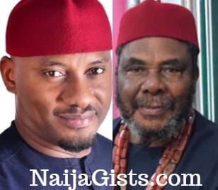 yul edochie dropped out school
