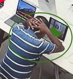 porn addict kicked out apple store