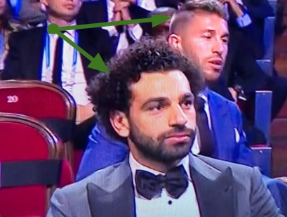ramos sit behind salah uefa award