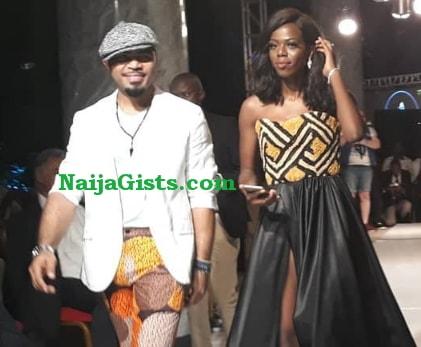 ramsey nouah walks runway congo fashion week 2018