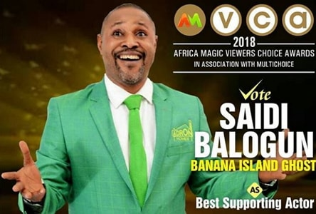 saidi balogun best supporting actor