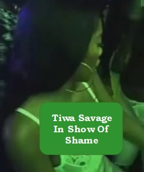 tiwa savage dancing night club