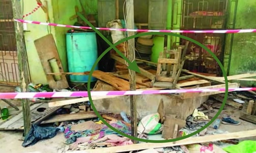 togolese womans falls into well lagos