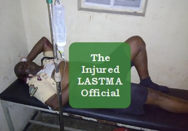 bus driver hits lastma official fled ghana