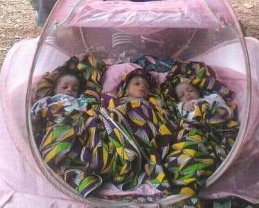 woman dies giving birth triplets
