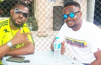 zubby michael emeka enyiocha fighting movie set