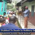 2 stabbed death cultists benin city edo