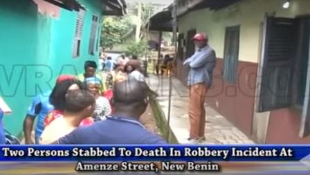 2 stabbed death cultists benin city edo