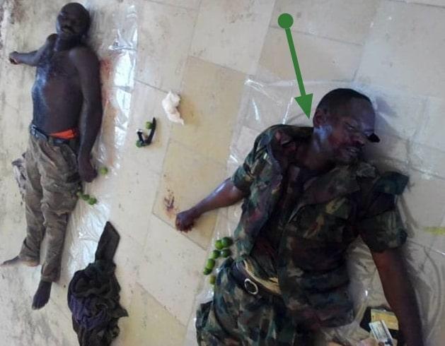 nigerian soldier mass shooting borno