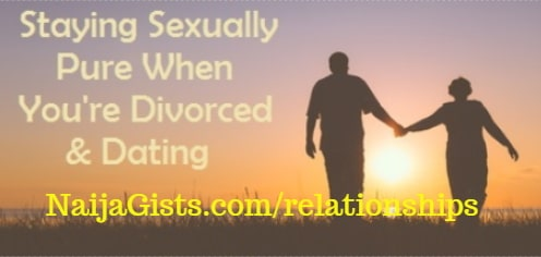 abstinence after divorce