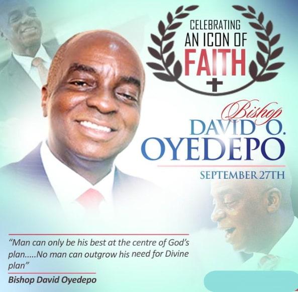 bishop david oyedepo 64th birthday photos