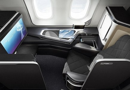 british airways first class october 1st