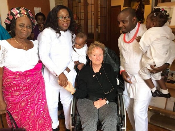 british nurse speaks igbo fluently
