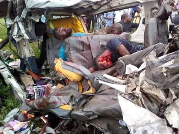 fatal accident inec office ekiti state