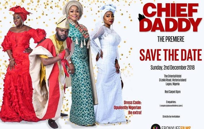 chief daddy movie premiere movie