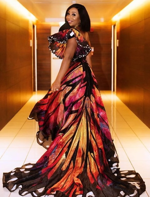 dakore akande butterfly dress