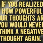 use your thought power change your life
