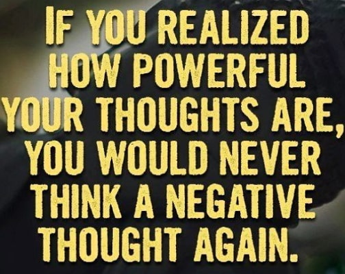 how to change negative thoughts