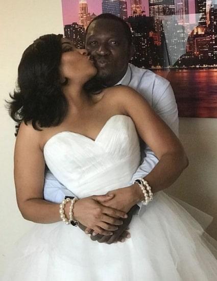 doris simeon secret wedding pictures