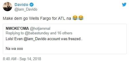efcc freezes davido account