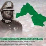 first military governor kwara state dies