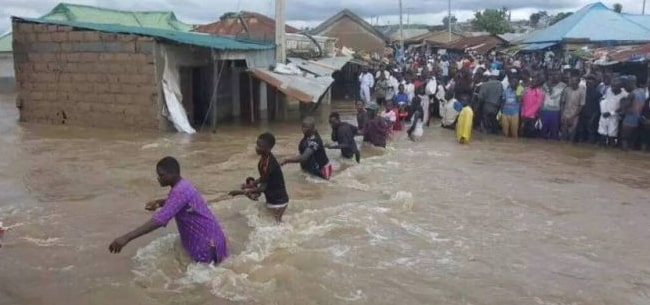 flood kills 72 northern nigeria 2018 nema