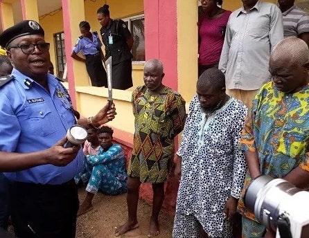 herbalist arrested money ritual abeokuta
