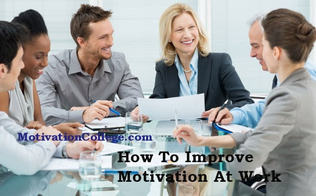 how to improve motivation in workplace