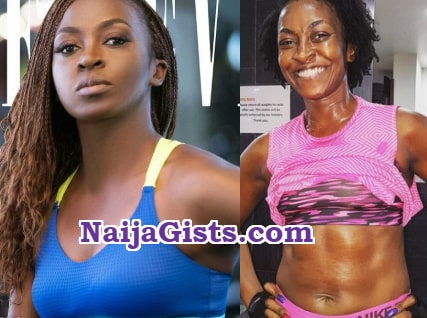 fittest strongest nollywood actress kate henshaw