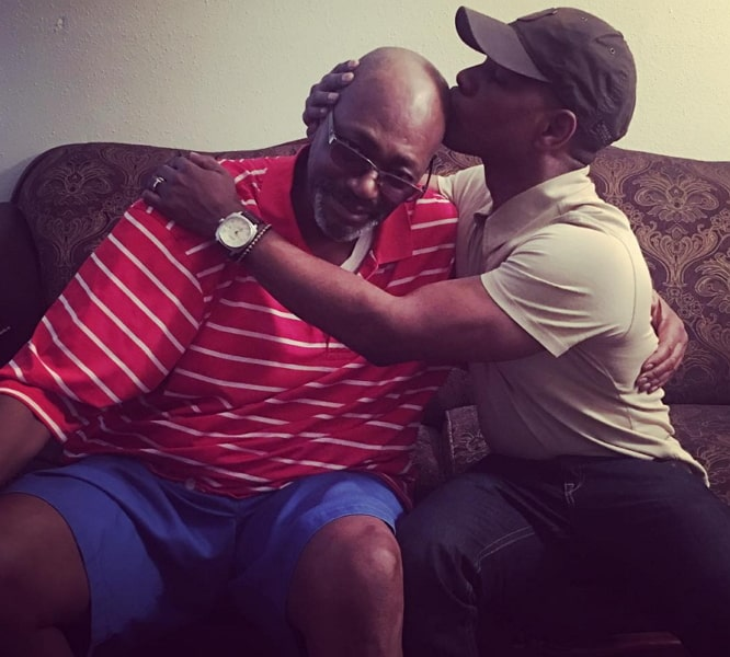 kirk franklin father months to live