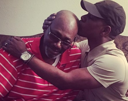 kirk franklin reconcile father