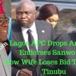 lagos apc drops ambode endorses sanwo olu